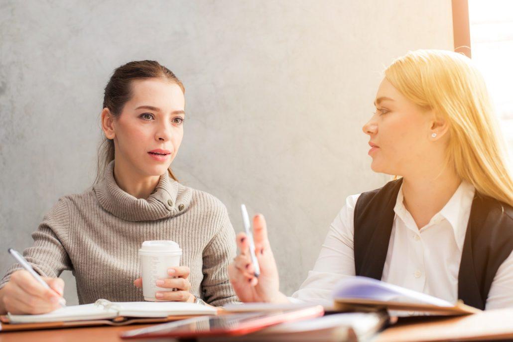 women-talking-business