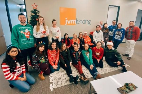 JVM Team Christmas photo