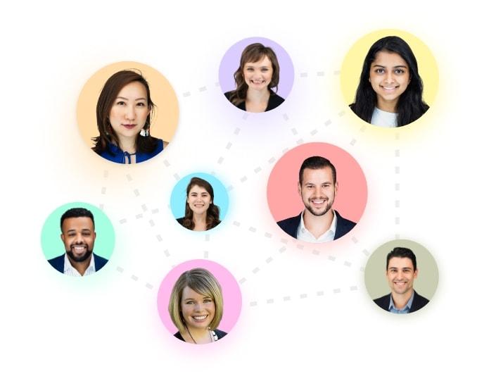 Headshots of JVM Lending team members